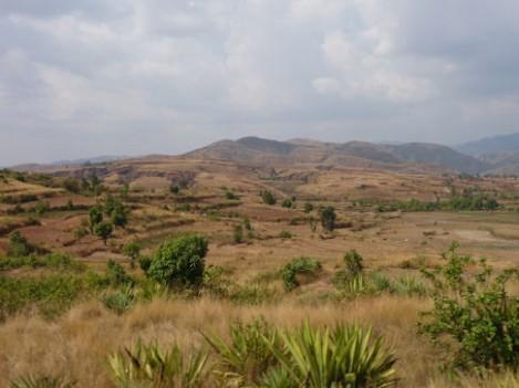 Landschaft bei Isalo