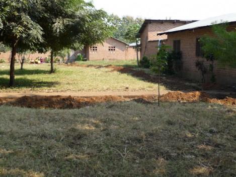 neues Wasserleitungsbett